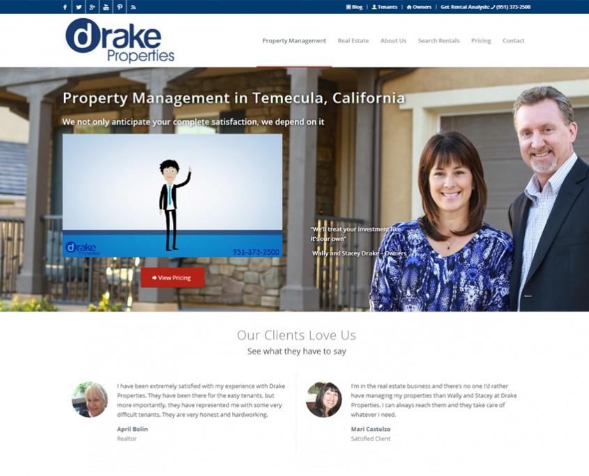 Drake_Website