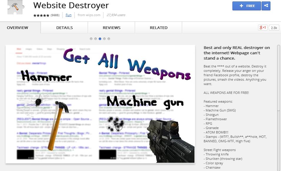 Website Destroyer
