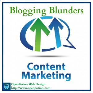 blogging blunders